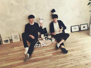 アーティスト 左:SECOND セカンド 右:Cherng チェン