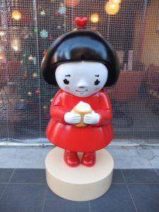 看板キャラクター 台湾茶大好きな女の子「キキちゃん」