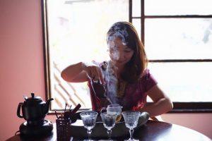 ≪中国台湾茶体験教室イメージ≫