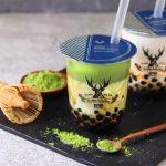 """台湾発の本格派ティースタンド""""THE ALLEY"""" 黒糖タピオカシリーズに「黒糖抹茶ラテ」が新登場。本日、2018年4月2日(木)から全店で販売開始!"""