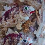 まるで竜宮城!貝殻で装飾された寺院!