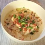 台湾料理を作ってみた♪豆乳スープ(鹹豆漿)編