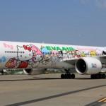 EVA航空「キティジェット」 12/7から大阪線に初就航へ