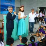 石垣島から台湾に流れ着いた水中カメラ。漂流カメラの持ち主が台湾を訪問!KKdayのサポートでカメラを発見した台湾の児童らと交流